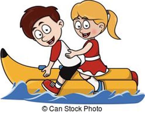 banana boat ride cartoon boat ride clipart clipground