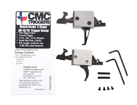 ar 15 trigger work new cmc triggers 2 stage curved or flat drop in trigger