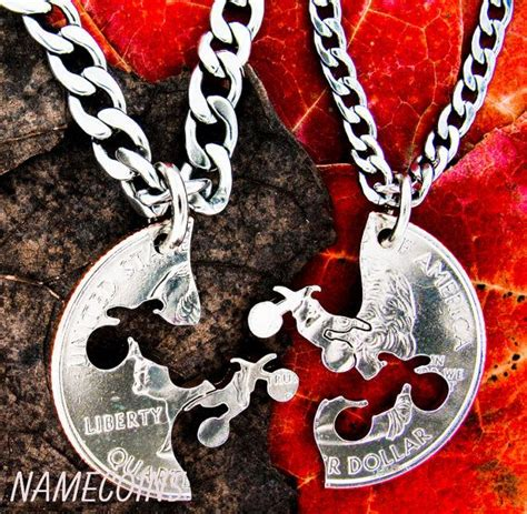 dirt bike necklace motocross couples guys jewelry