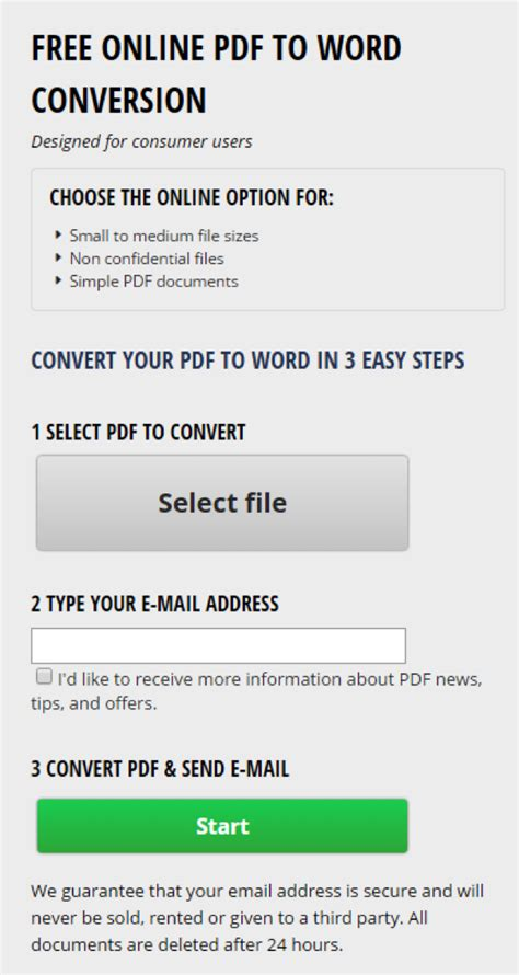 convert pdf to word not online convert pdf to word with investintech s free online pdf to