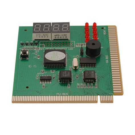 Tester Card Motherboard Pci 4 digit diagnostic motherboard tester card pci pc analyzer