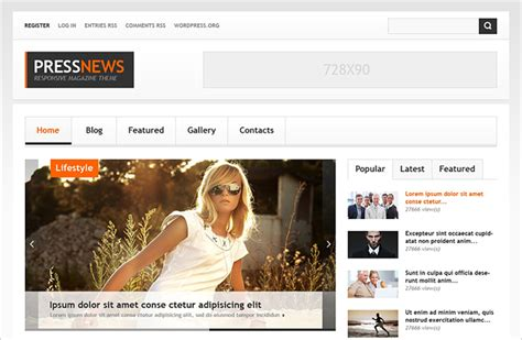 blogger themes for news 10 news blog themes free premium templates