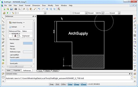 free drafting software free cad software archsupply