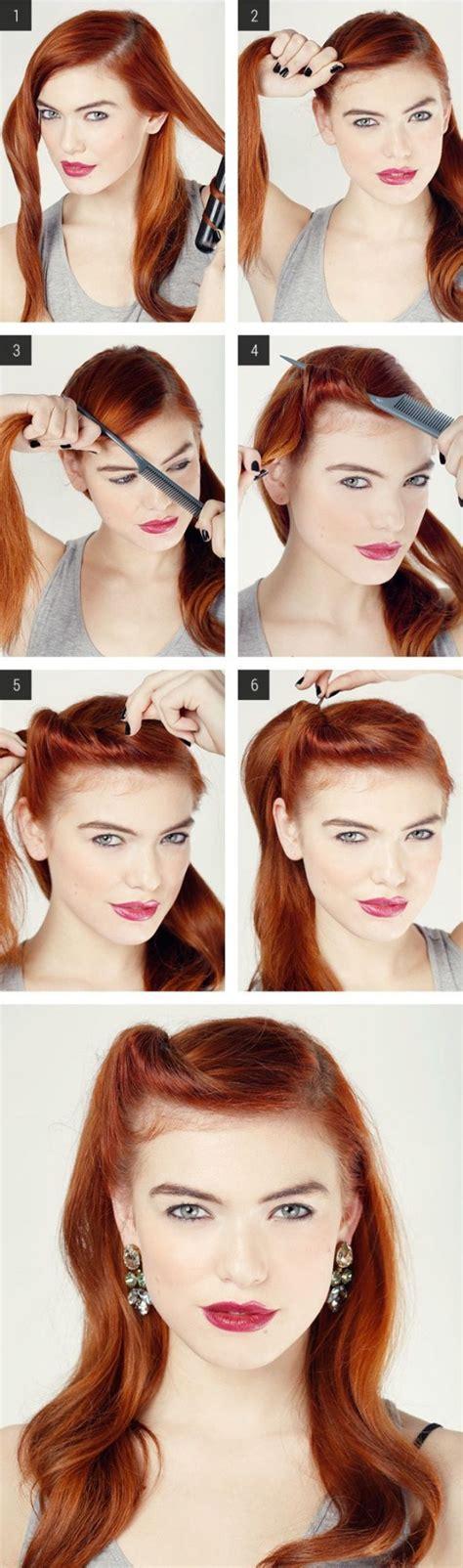 how to do vintage hairstyles pinterest 10 tutoriales paso a paso de peinados f 225 ciles y r 225 pidos