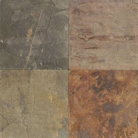 tilecrest slate stone 24 x 24 butterscotch gauged
