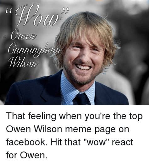 Owen Wilson Meme - funny owen wilson memes of 2016 on sizzle football