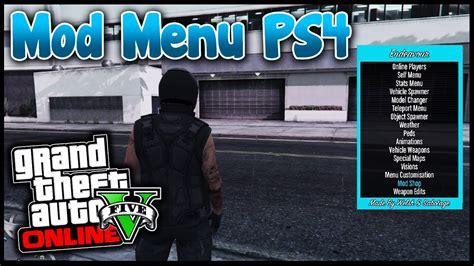 mod gta 5 online ps4 des mod menus pr 201 sents sur ps4 gta 5 online youtube