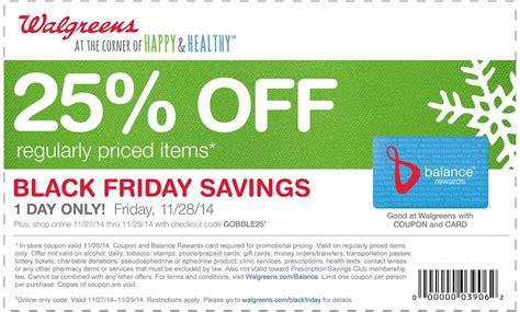 Calendar Coupon Walgreens Walgreens Coupons 25 Friday At Walgreens Or All