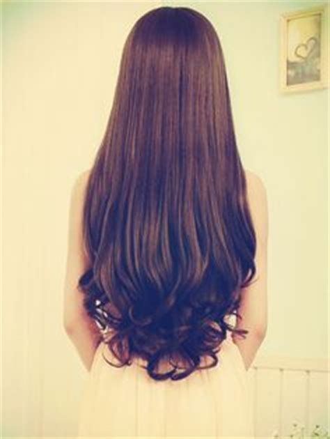 hairstyles with curly ends hair care hair style on pinterest thicken hair hair