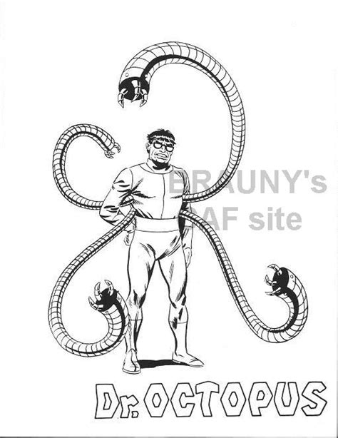 lego doctor octopus coloring pages coloring pages