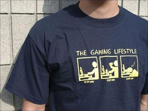 Kaos Bloody Gaming 60 cool and creative geeky t shirts for your inspiration
