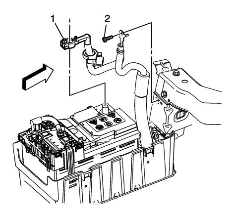 Service Manual How To Disconnect Battery On A 2012