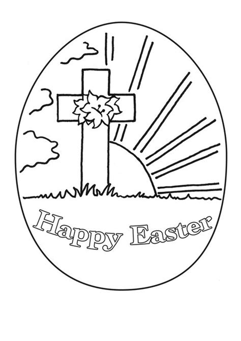 religious easter coloring pages for preschoolers art valla