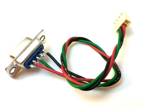 serial cable to 4 pin molex wire