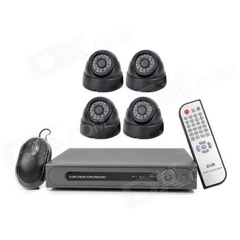 Setting Cctv d s160 4 ch security surveillance dvr w 4 cctv cameras