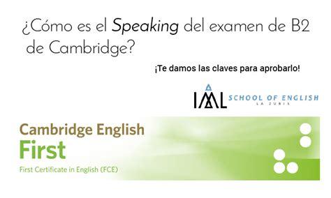 preguntas b1 ingles speaking 191 c 243 mo es el speaking del b2 del cambridge english fce