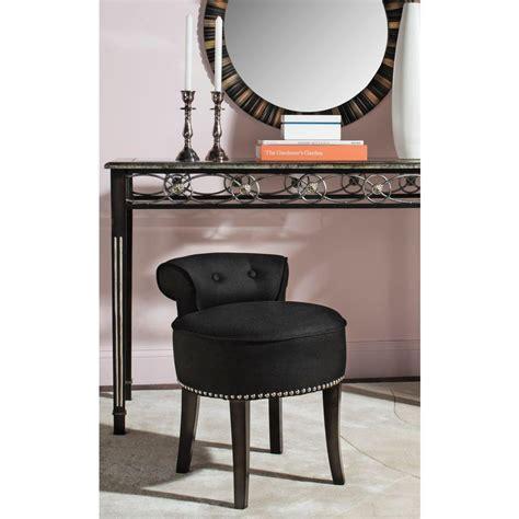 home decorators collection ella script vanity stool   home depot