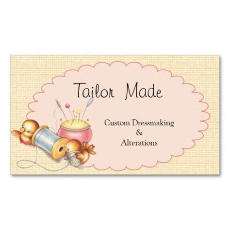 Tailoring And Alterations Business Cards Template by 208 Best Tailor Business Cards Images On