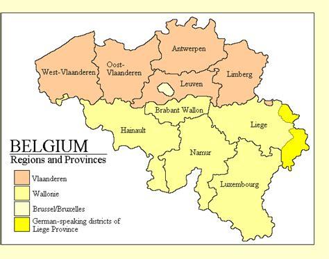 regions of belgium map pics photos belgium regions new zone