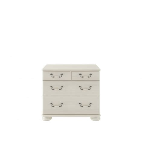 Kingstown Signature 2 2 Drawer Chest In Cream D393 At Kingstown Signature Bedroom Furniture