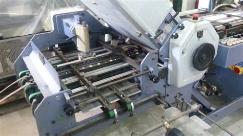 Stahl Paper Folding Machine - paper folding machine stahl k49 4k fa doovi