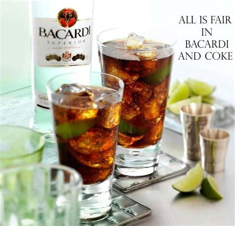 Happy Hour Vanilla Rum Colas by Bacardi Coke Happy Hour