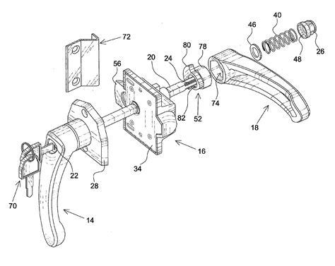 sliding door parts faceplate repair kwikset door knob parts diagram imageresizertool