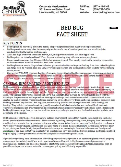 bed bug in spanish worksmart bed bug documents bedbug central
