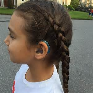 hair and hearing aids girls hairstyles with hearing aids little ears deaf