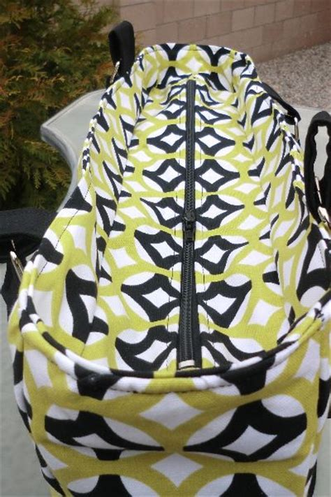 tote bag pattern with recessed zipper recessed zipper on a bag sewing pinterest