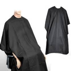 New black salon hairdressing hairdresser hair cutting gown barbers