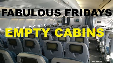 fabulous fridays small business class cabin sections for fabulous fridays flying with empty cabins a plane for