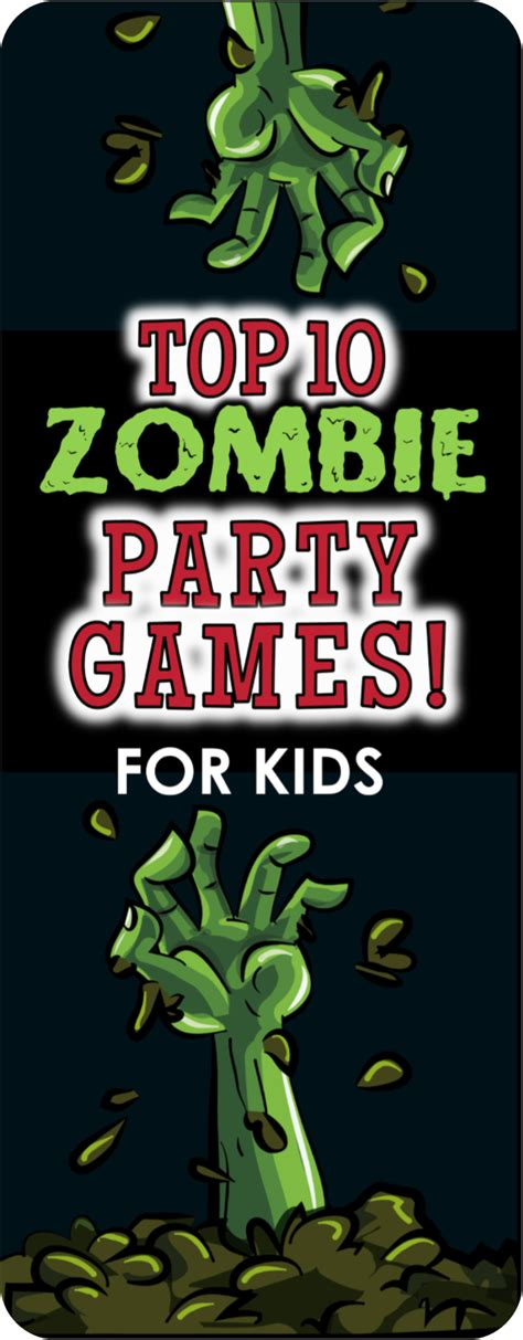top 10 themes of games zombie apocalypse party games
