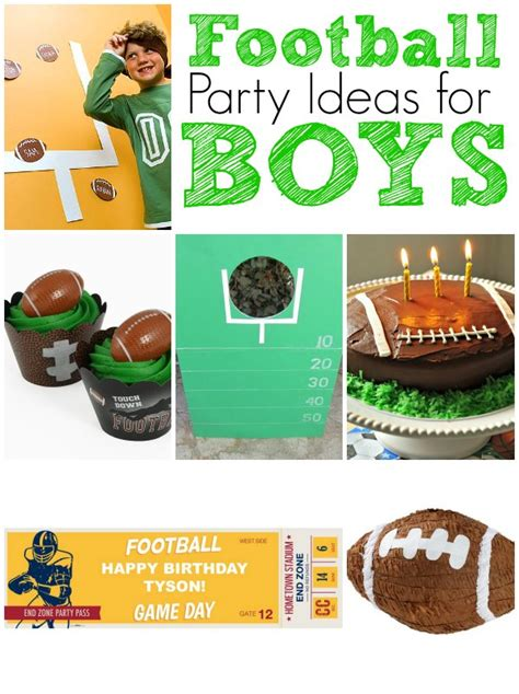 ideas for football birthday ideas