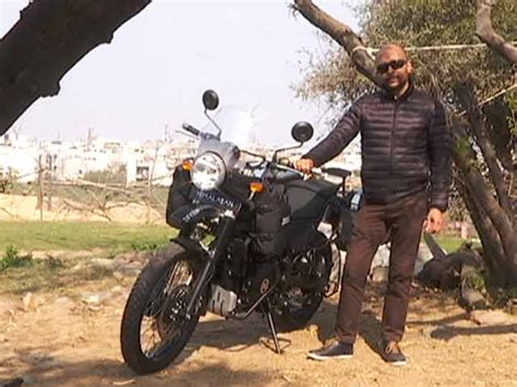 Bike Modification In East Delhi by Look Royal Enfield Himalayan