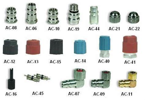 Coupler Kopling Connector R134a Top Quality r12 r134a retrofit fittings aluminum from on time taiwan co ltd taiwan