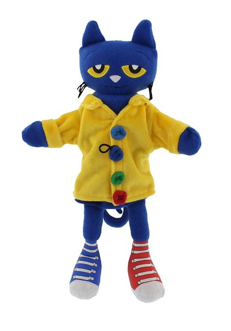 Pete The Cat Groovy Buttons 14 5 quot puppet pete the cat and his four groovy buttons