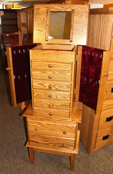 Shaker Jewelry Armoire by Shaker Jewelry Armoire Amish Traditions Wv