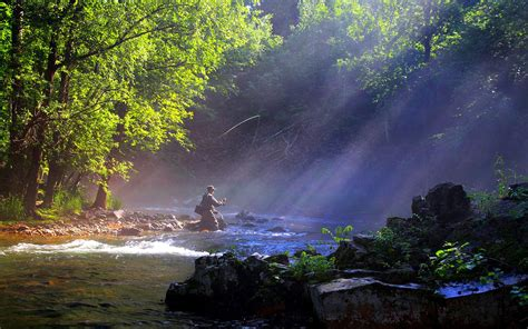 fishing background fly fishing in a river 137378 high quality and