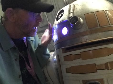 ron howard kessel ron howard s latest bts from the han solo movie shows off
