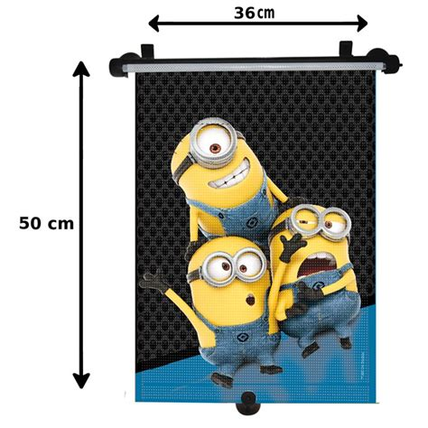 Rideau Pare Soleil Enrouleur Voiture by 1 Rideau Pare Soleil Enrouleur Lat 233 Ral Minions 50 X 36 Cm
