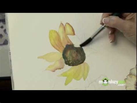 watercolor tubes tutorial how to paint flowers with watercolors youtube
