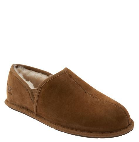 ugg scuff slipper ugg scuff romeo ii slipper in brown for chestnut
