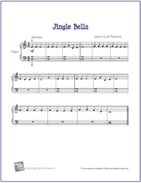 small jingles for guitar jingle bells free sheet for beginner piano flickr photo