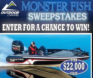 Bass Pro Shop Sweepstakes - monster fish sweepstakes from bass pro free sweepstakes contests giveaways