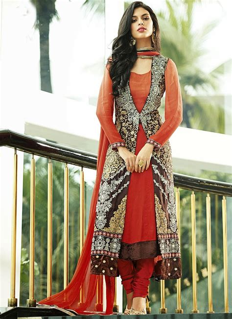 best designers pin maroon salwar suit beautiful pakistani wedding dress