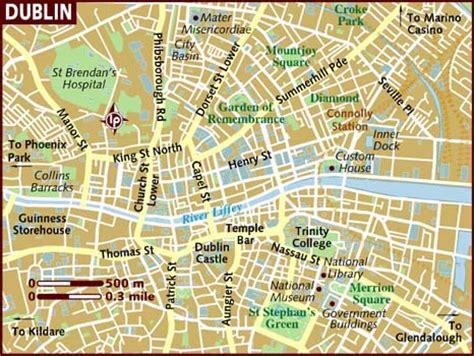 printable street map dublin city centre mi primer a 241 o en red xxi unit 6 ireland lesson 7 monuments