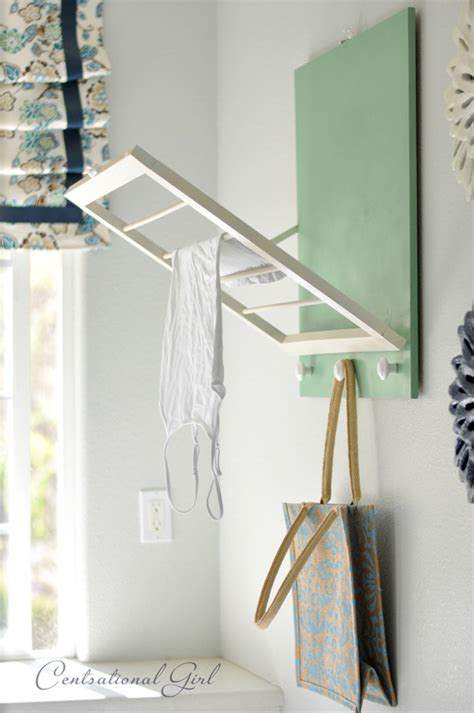 Diy Laundry Room Drying Rack Centsational Girl How To Build A Laundry
