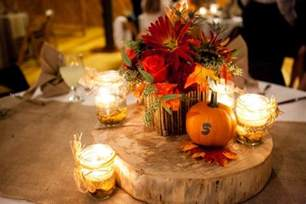 fall wedding centerpieces autumn wedding color palette brown orange wedding colors