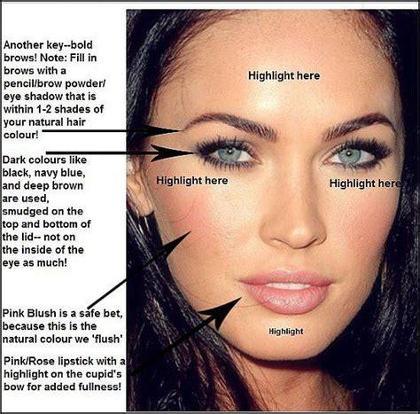 megan fox eye color megan fox makeup tips linzi s makeup